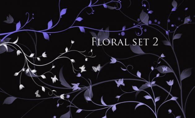 Floral set 2 Photoshop