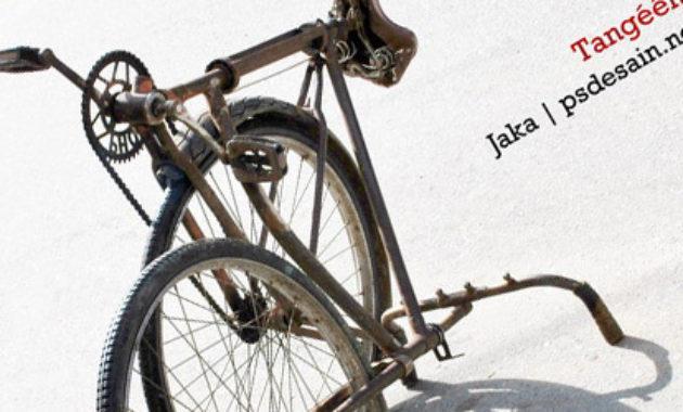 Sepeda tua unik