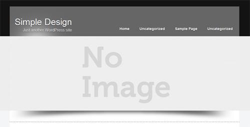 Desain website wordpress theme