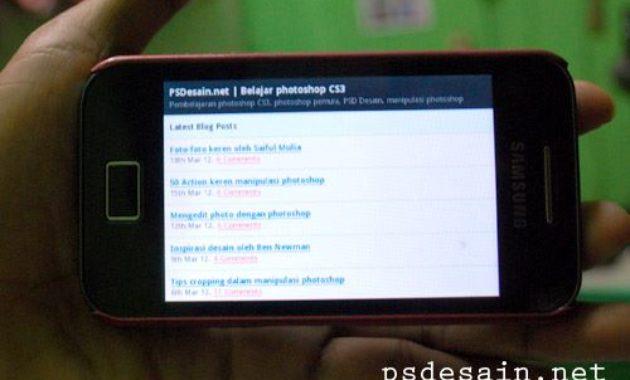 Download Aplikasi Android : PSDesain