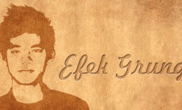 efek-grunge