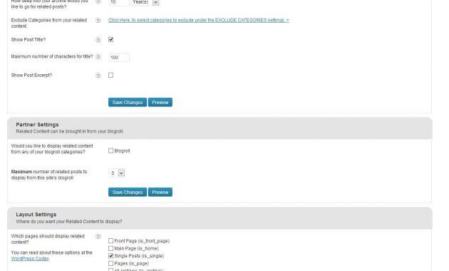 postingan terkait wordpress 3