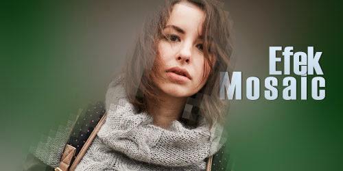 Membuat efek foto Mosaic dengan Photoshop