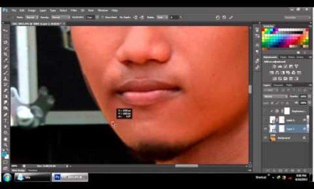 Mengganti wajah dengan photoshop
