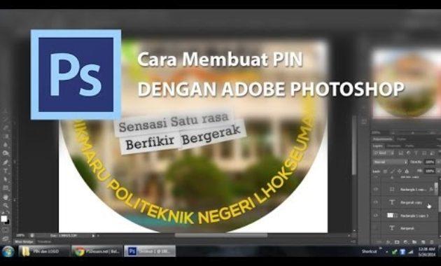 Membuat pin dengan photoshop