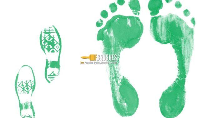 brush kaki hijau