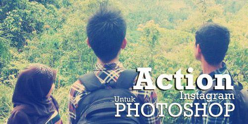 Action efek foto instagram untuk photoshop