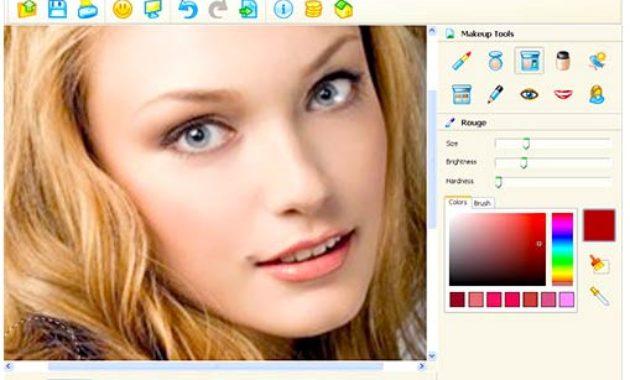 Software menambah makeup di foto