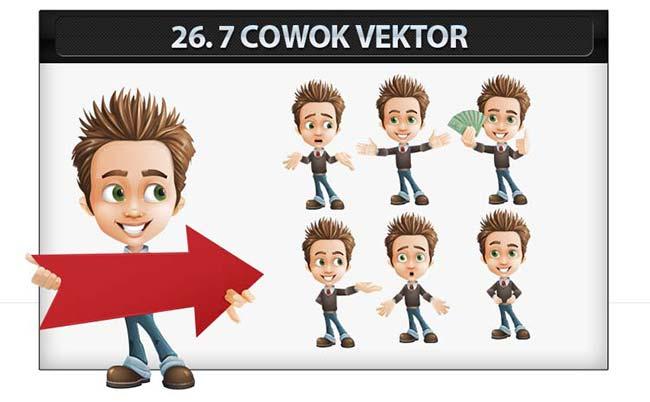 Desain banner vektor