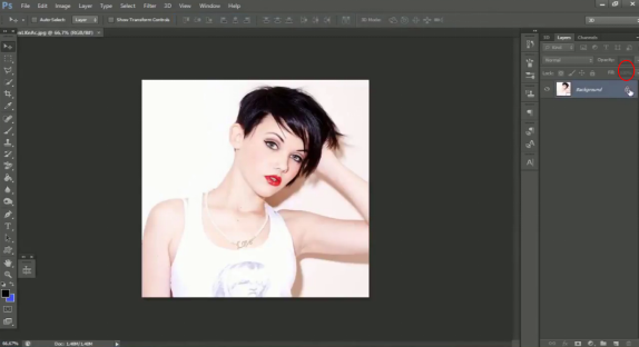 Tutorial Membuat Dichod (Kedip-Kedip) Di Photoshop