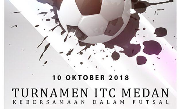 Desain Poster Turnamen Futsal