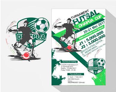 Download Template Desain Poster Turnamen Futsal