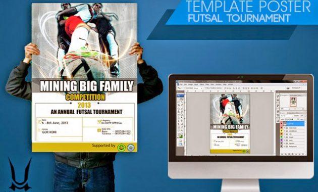 Template Desain Poster Turnamen