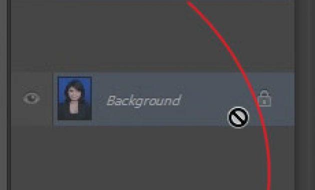 Tarik layar untuk menduplicate layer