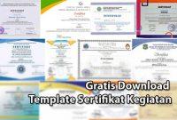 Download Template Sertifikat Kegiatan
