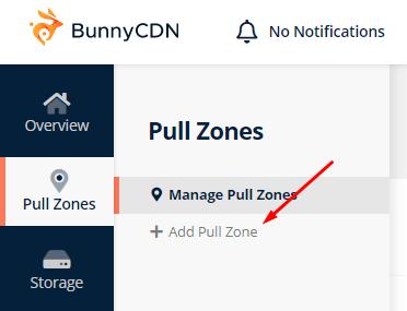 Menambah zona baru