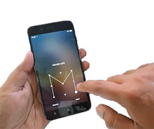 Mengunci layar pola smartphone Vivo Y53