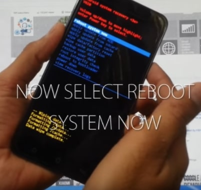 Reboot system now