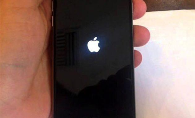 iPhone restart terus menerus